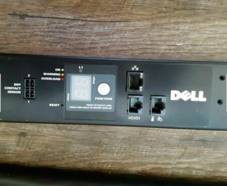 DELL METERED RACK PDU J520N DELL6807 200-240V (21) IEC-320-C13, (6) IEC-320-C19