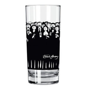 "Edward Gorey ""Cultural Slag"" Glass"