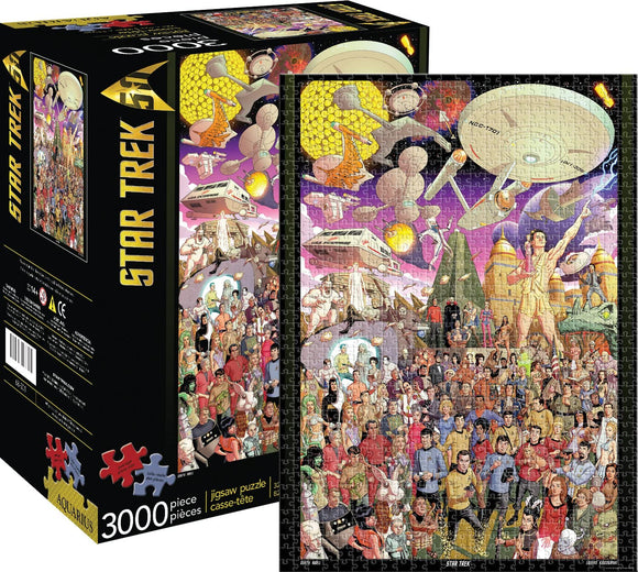 Star Trek 50th Anniversary Jigsaw Puzzle, 3,000 Pieces