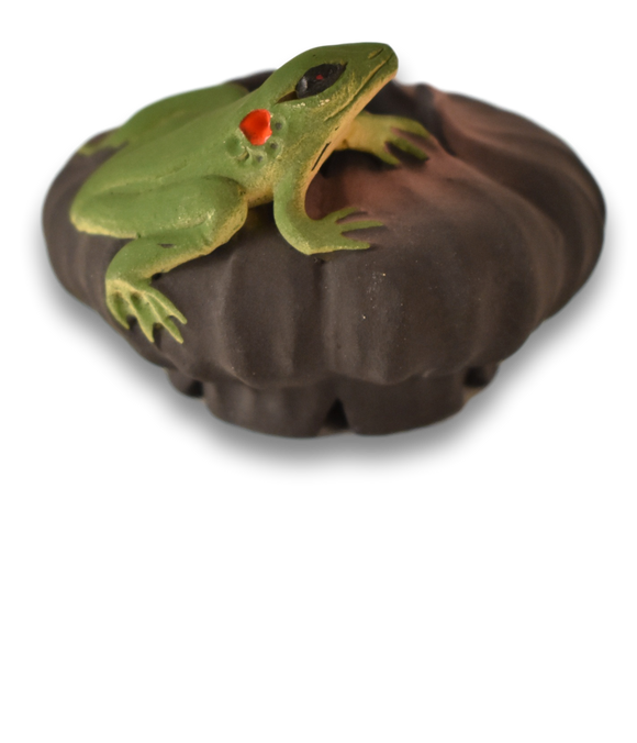 Nancy Y. Adams—Vase, Mini Frog