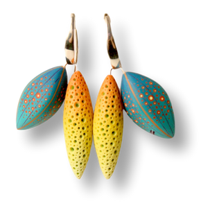 Jeffrey Lloyd Dever—Tropic Summer Earrings