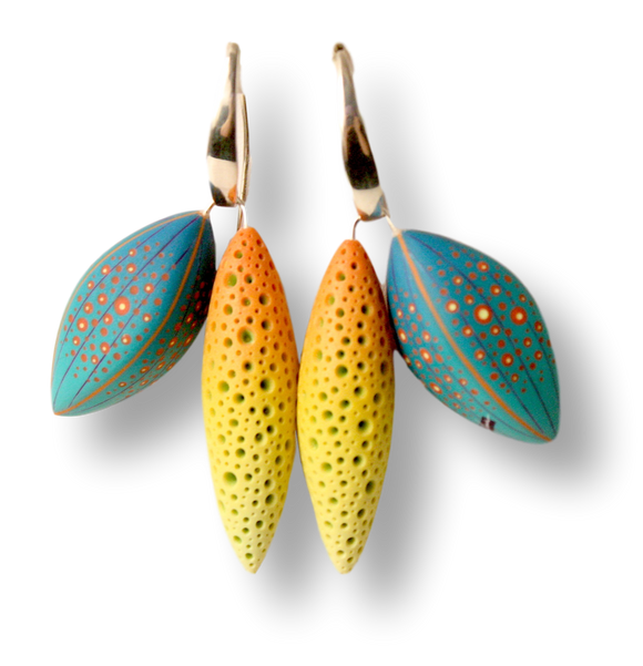 Jeffrey Lloyd Dever - Tropic Summer Earrings