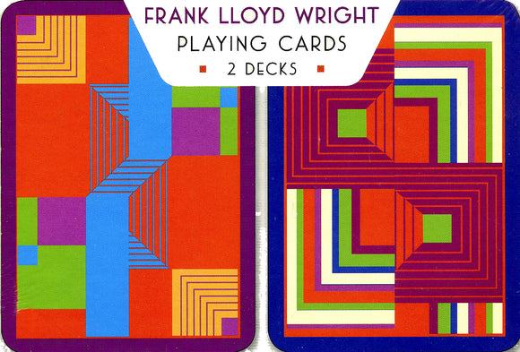 Frank Lloyd Wright: Biltmore Panel Playing Cards
