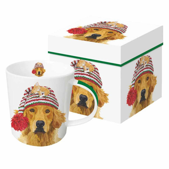 Holiday Dog Mugs