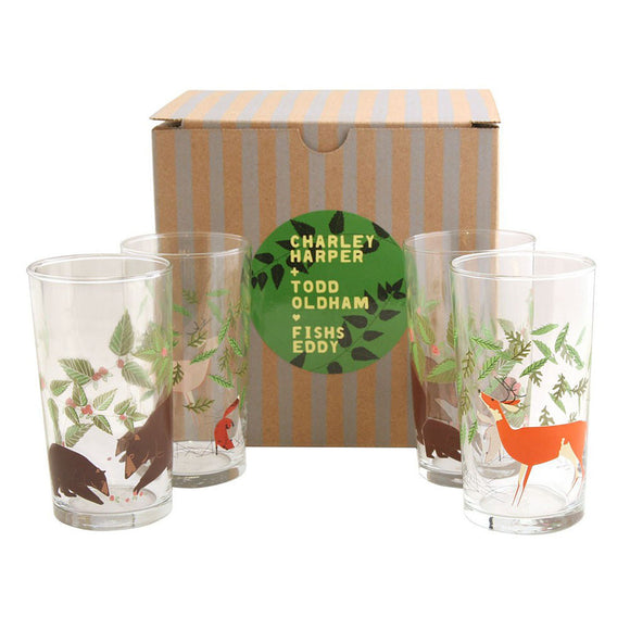 Charley Harper - Great Outdoors Drink Glasses