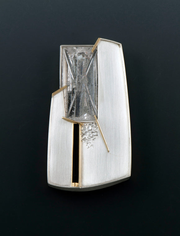 Eleanor Moty—Junction Brooch