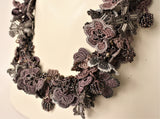 Emily Kisa—Crocheted Colorway Necklace