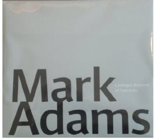 Mark Adams - Catalogue Raisonne of Tapestries