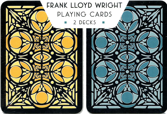 Frank Lloyd Wright: Moore House Playing Cards