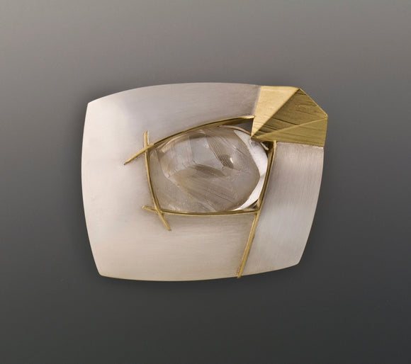 Eleanor Moty—Phantom Inclusion Brooch