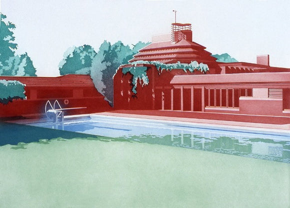 Frances Myers - Frank Lloyd Wright Prints