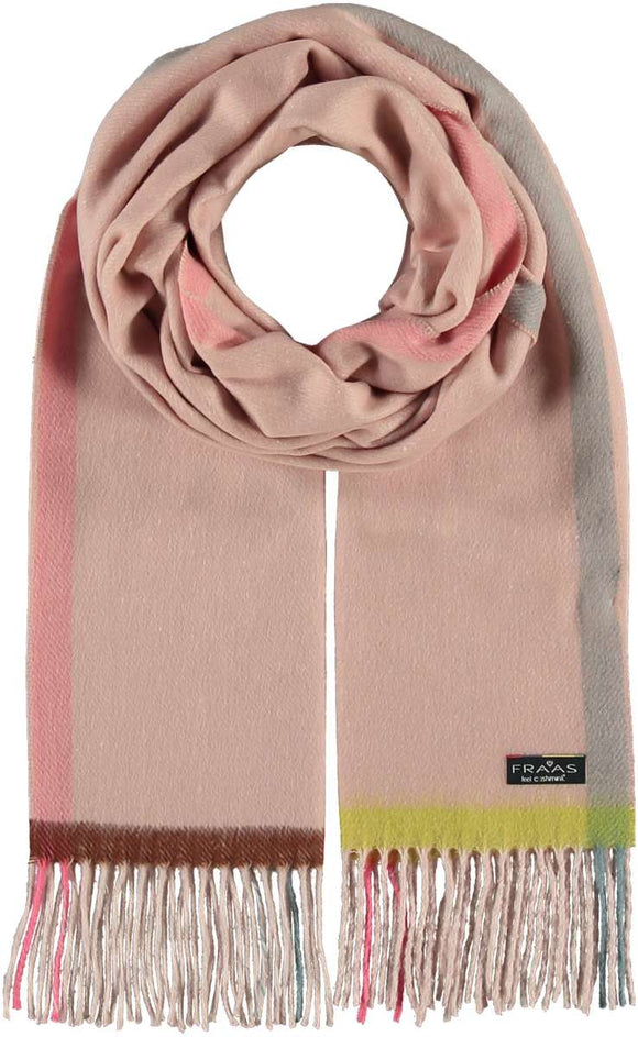 Color Block Scarves
