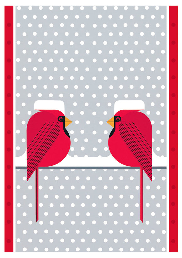 Cool Cardinals Holiday Card Assortment, Set of 20