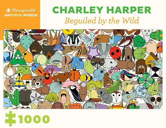 Charley Harper—Beguiled by the Wild Puzzle, 1,000 Pieces