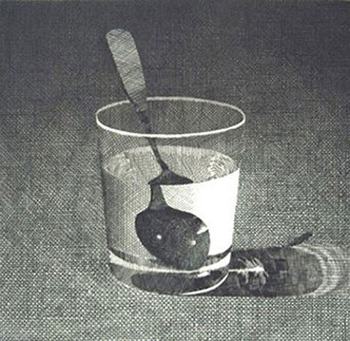 Mark Adams—Glass with Spoon