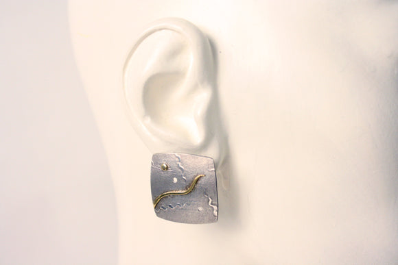 Eleanor Moty—Square Earrings