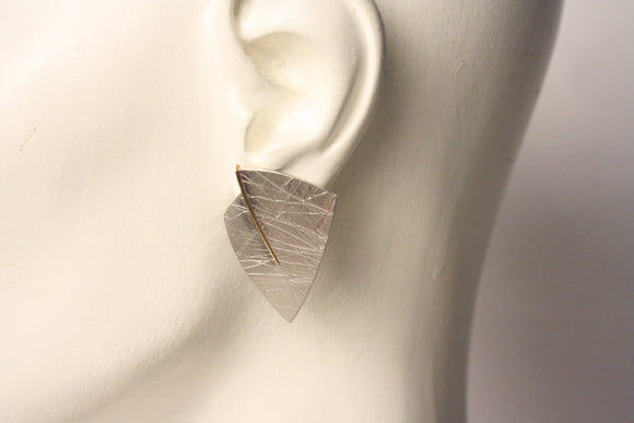 Eleanor Moty—Triangular Earrings
