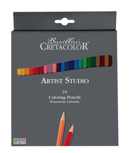 Cretacolor Artist Studio Colored Pencils, Set of 24