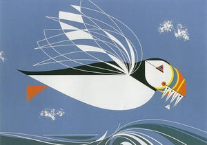 Charley Harper—Puffin (The Name is Puffin)