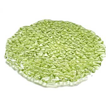 Hudson Beach Glass Relief Platter