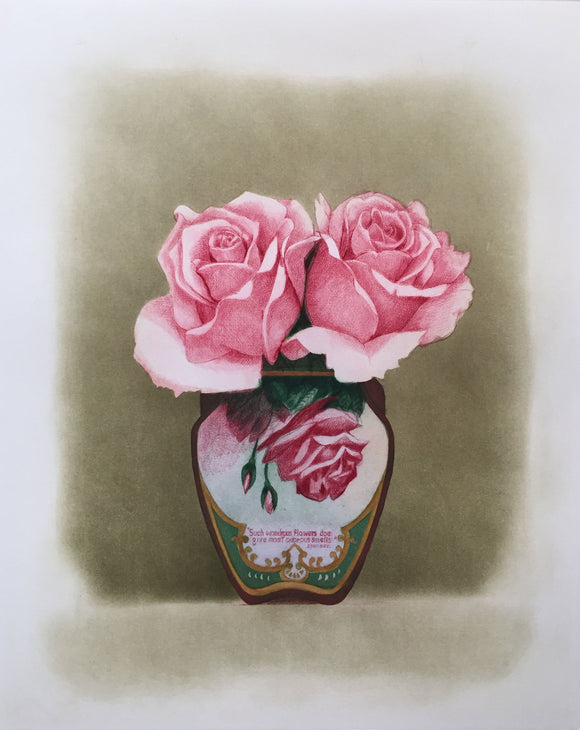 Beth Van Hoesen—Three Roses