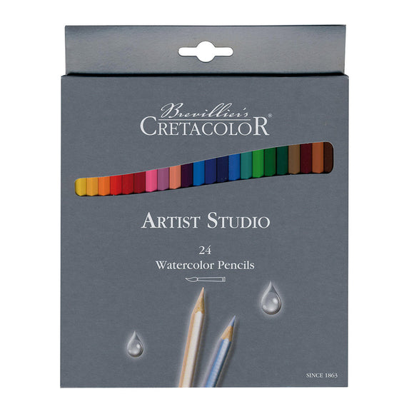 Creatacolor Artist Studio Watercolor Pencils, Set of 24
