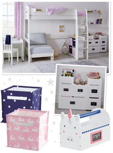 bunnies and stars children's bedrooms