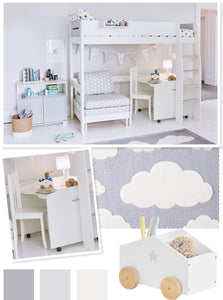 Cloud Underbed Study Space