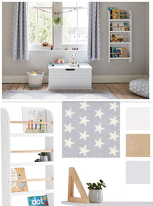 Grey Star Playroom