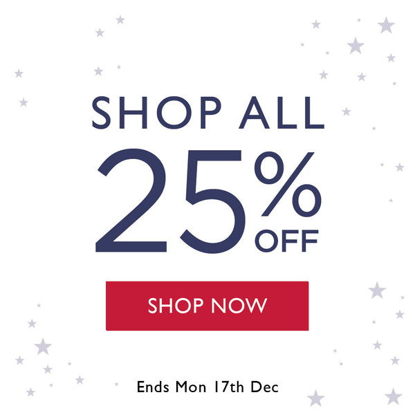 SHOP ALL 25% OFF