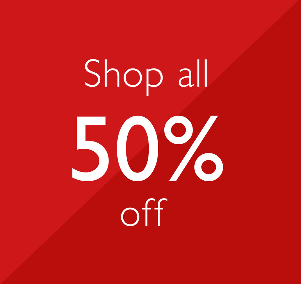 Shop all 50% off