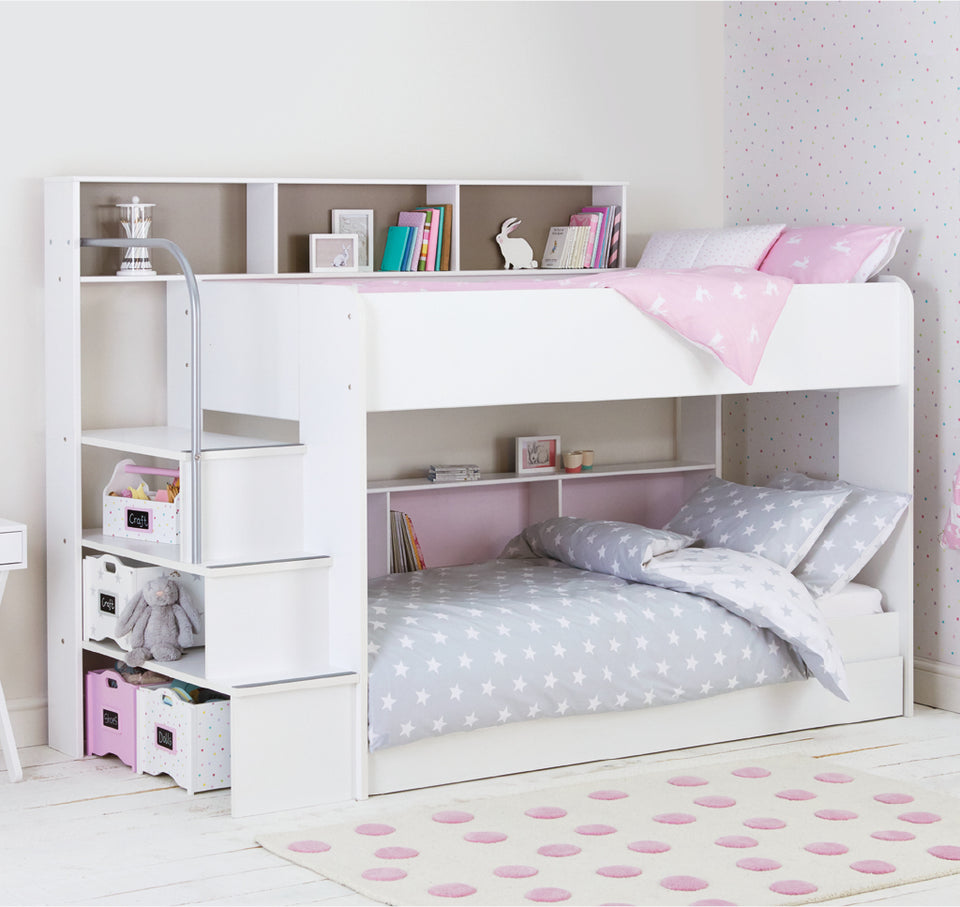 Harbour white bunk bed