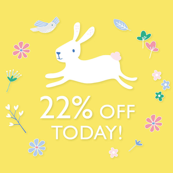 22% off today