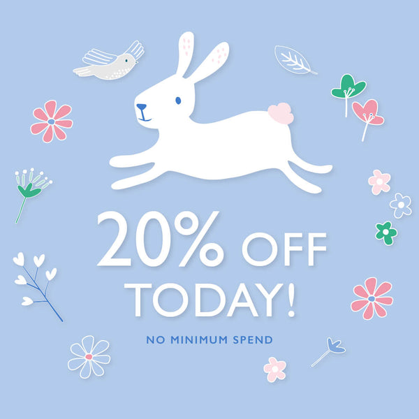 20% off today
