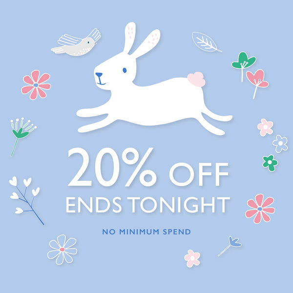 20% off ends tonight