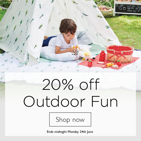 20% off outdoor fun