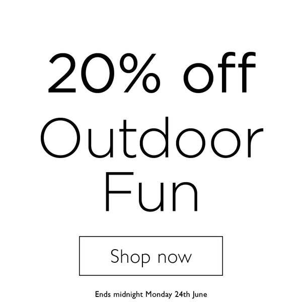shop 20% off outdoor fun