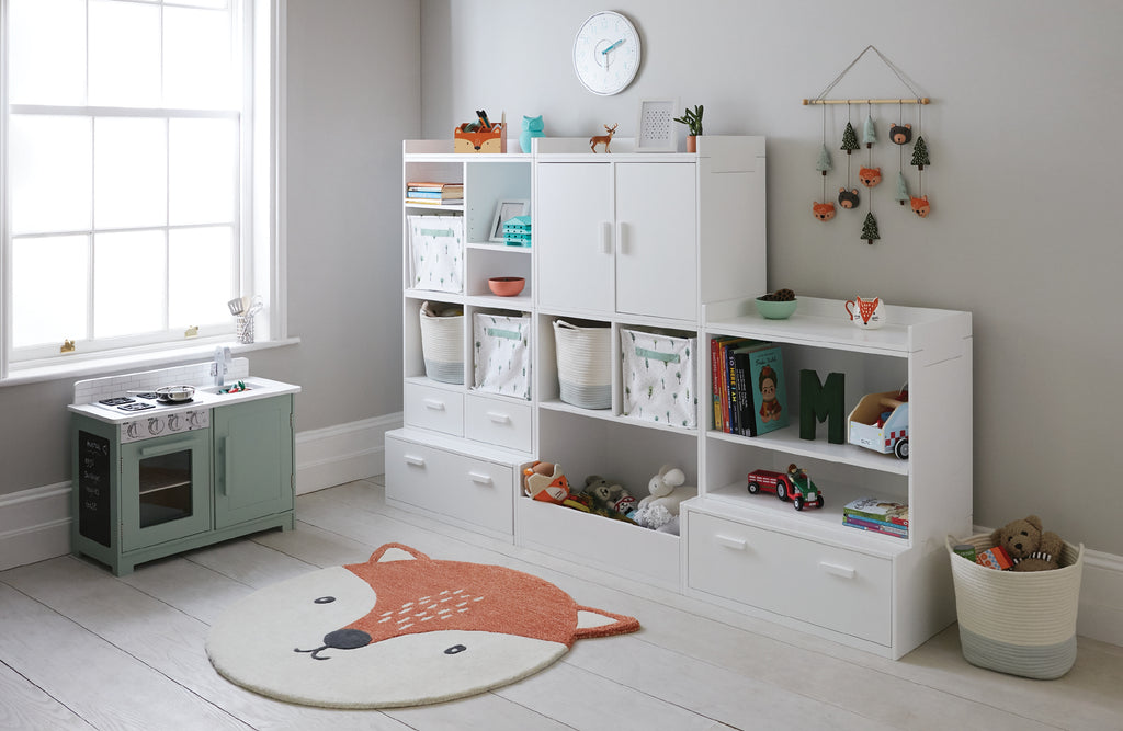 Fox themed playroom