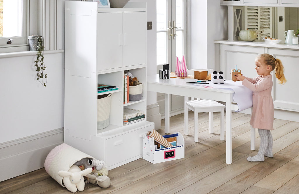 Storage for shared family space