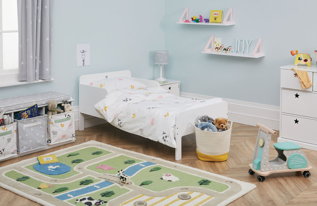 Farm toddler bedroom