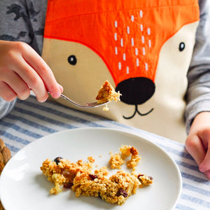 fox apron flapjack autumn
