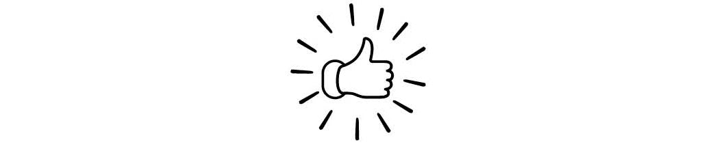Thumbs up mobile icon