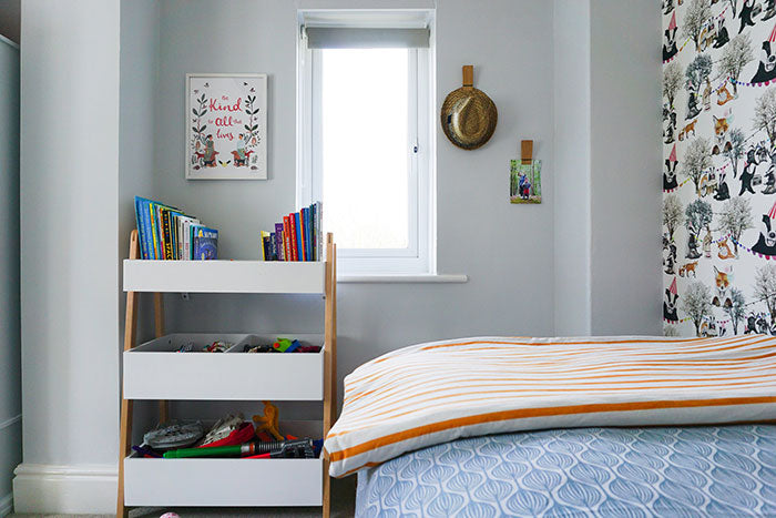 Real rooms: A modern but traditional children's bedroom