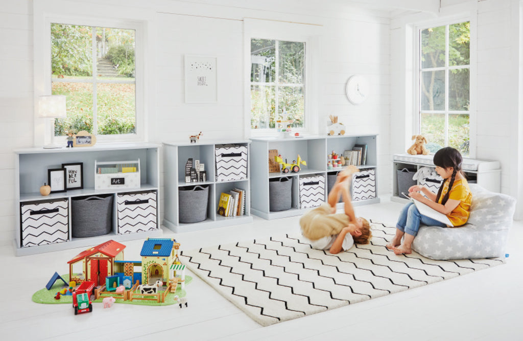 Abbeville Grey Cube Storage Playroom
