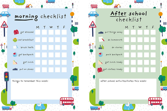 How to establish a consistent before and after school routine