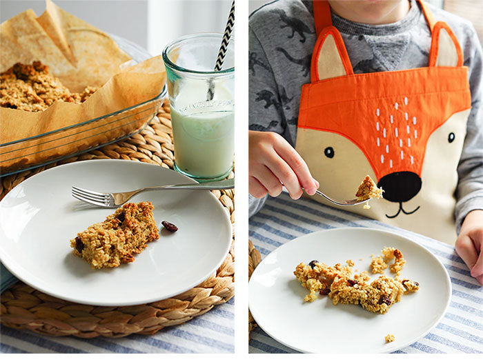 Baking with fox