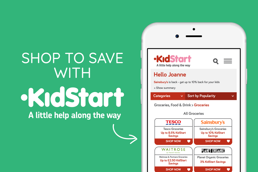 Shop to save with KidStart