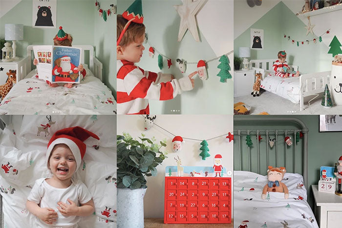 Decorate your child's bedroom for the festive season