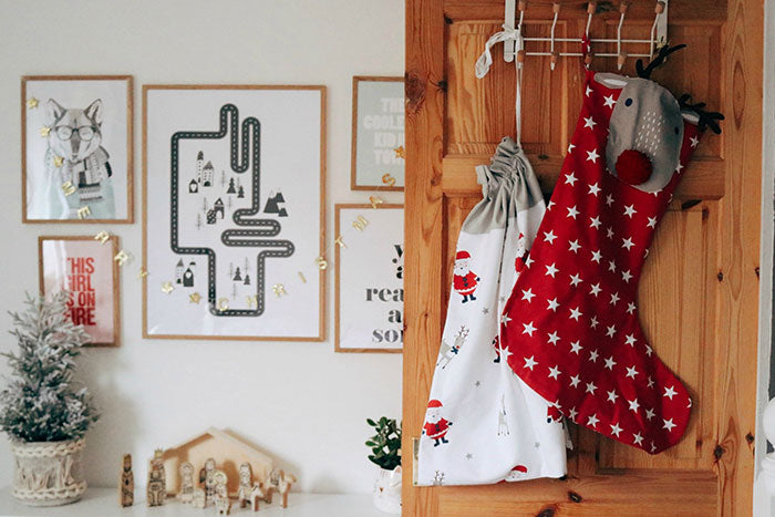 Real Rooms: A Fabulously Festive Shared Bedroom