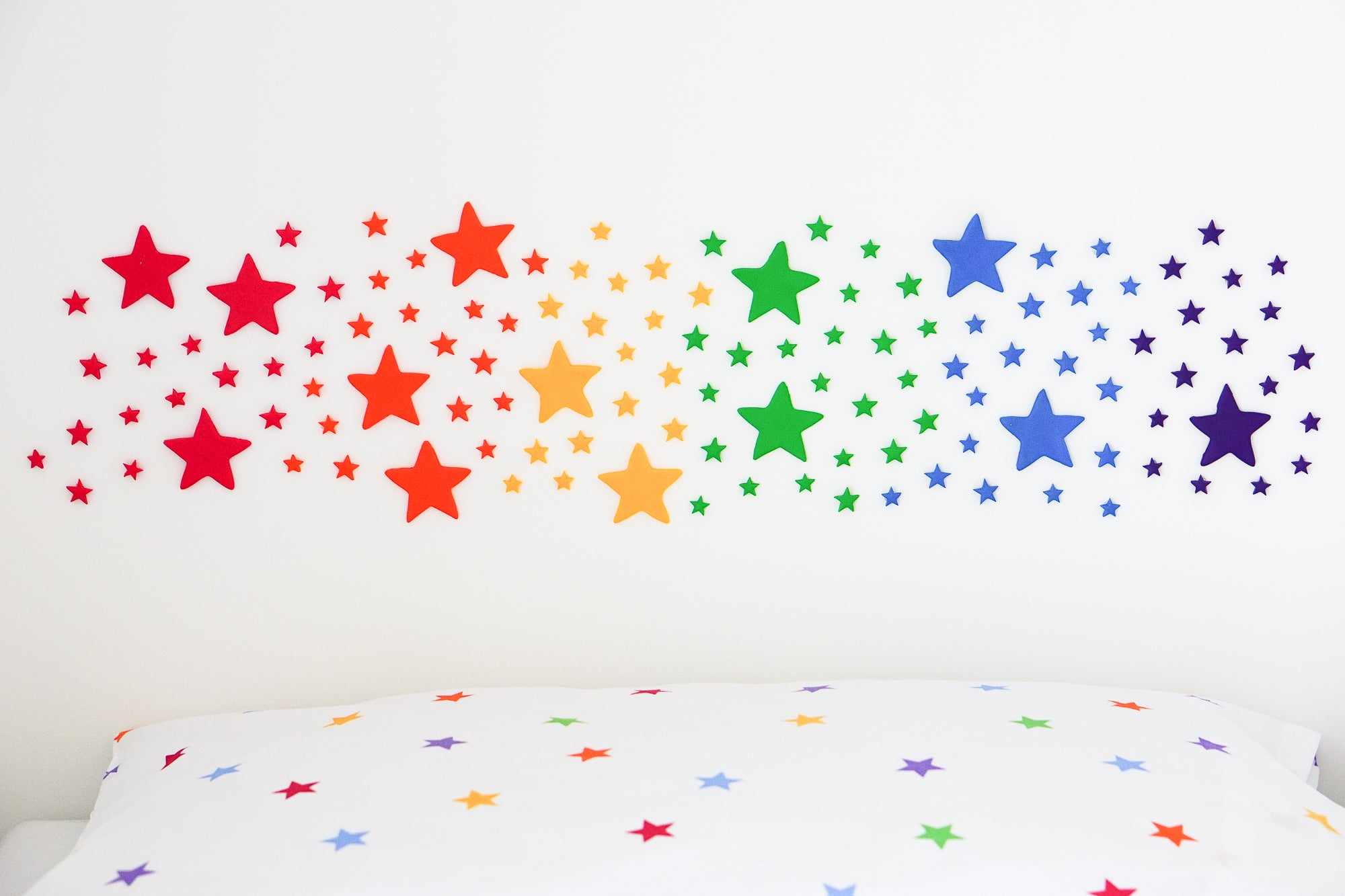 Get Crafty: Create a rainbow from homemade clay stars